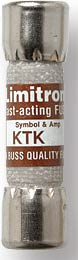 Buss  Fast Acting Supplementary Midget Fuse (12 Amp) KTK-12