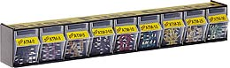 Buss Atm Fuse Assortment Bin Display NO.227