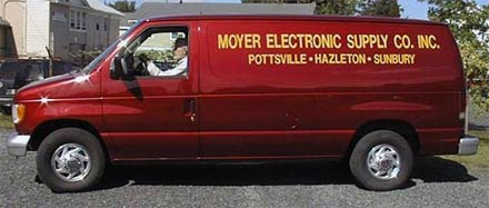 Moyer Electronics Delivery Van